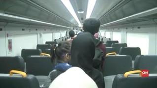 VIDEO: Uji Coba Kereta ke Bandara Soetta dari Stasiun Bekasi