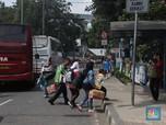 Duh! Ada Bus tak Laik Jalan di Terminal Kampung Rambutan