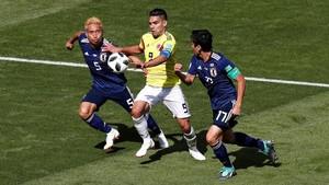 Babak I: 10 Pemain Kolombia Tahan Imbang Jepang