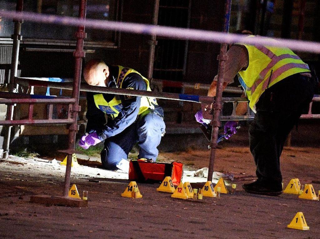 Foto: Ini Lokasi Penembakan di Malmo Swedia