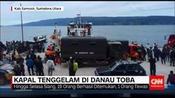 Kapal Tenggelam Di Danau Toba