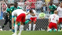 Babak Pertama: Senegal Unggul 1-0 Atas Polandia