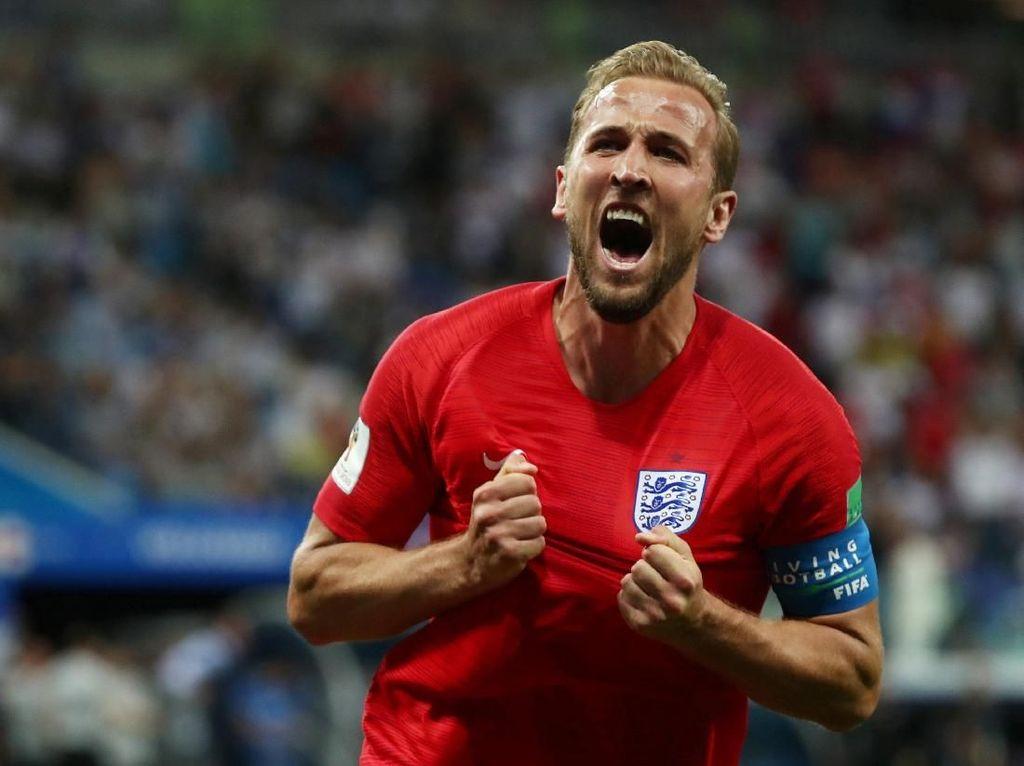 Dua Gol Harry Kane Menangkan Inggris