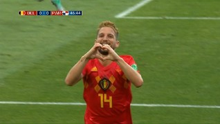 VIDEO: Cuplikan Gol Kemenangan Belgia vs Panama