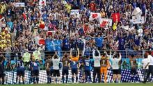 Tekuk Kolombia, Jepang Raih 'Keajaiban Kecil' di Mordovia