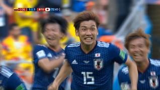 VIDEO: Highlights Pertandingan Kolombia vs Jepang