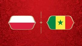 LIVE: Polandia vs Senegal di Piala Dunia 2018