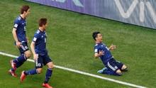 Kagawa Cetak Gol Tercepat Timnas Jepang di Piala Dunia