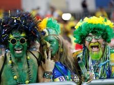 Pendukung Amerika Latin Goyang Rusia di Piala Dunia 2018