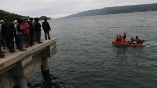 Cuaca Bagus, Pencarian Penumpang KM Sinar Bangun Dilanjutkan