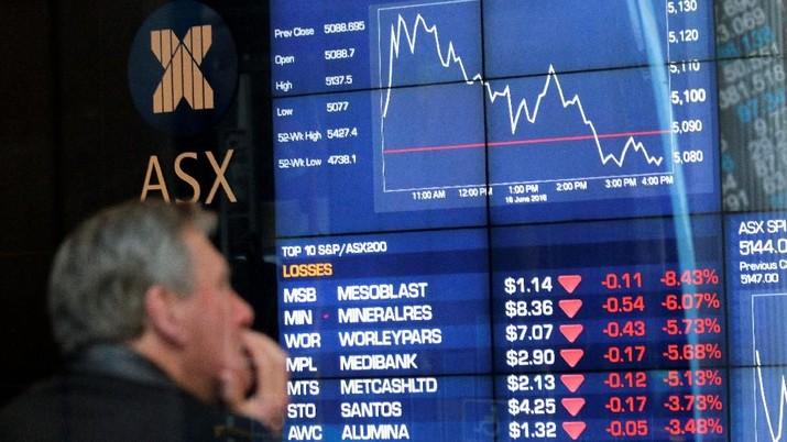 Bursa Korea & Australia Kompak Bergerak di Zona Merah