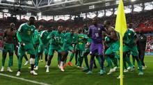FOTO: Kemenangan Kejutan Senegal atas Polandia