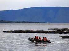 Pemerintah Janji Benahi Pelayaran di Danau Toba dalam 1 Bulan