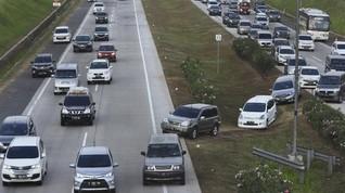 Contraflow Kembali Diberlakukan di Tol Jakarta-Cikampek