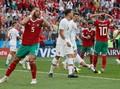 Maroko Tim Pertama yang Tersingkir di Piala Dunia 2018