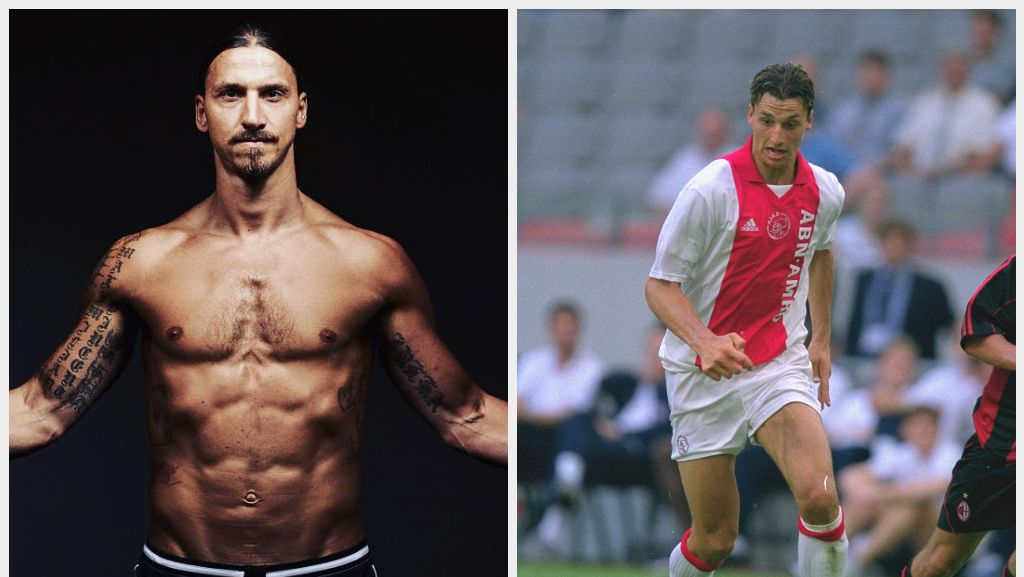 Ronaldo hingga Ibrahimovic, Deretan Pemain Bola Beken yang Pernah Kurus