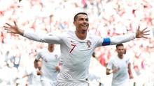 Gol Tunggal Ronaldo Antar Portugal Menang atas Maroko