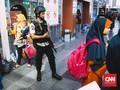 Stasiun Senen dan Gambir Dijaga Ratusan Personel TNI-Polri