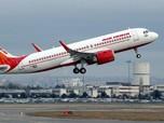 Viral, Pesawat Air India Kejepit di Bawah Jembatan New Delhi