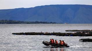 Polisi Sebut Banyak Kapal Ilegal di Danau Toba Saat Lebaran