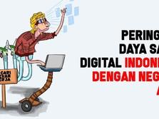 Daya Saing Digital RI Terendah di Asia
