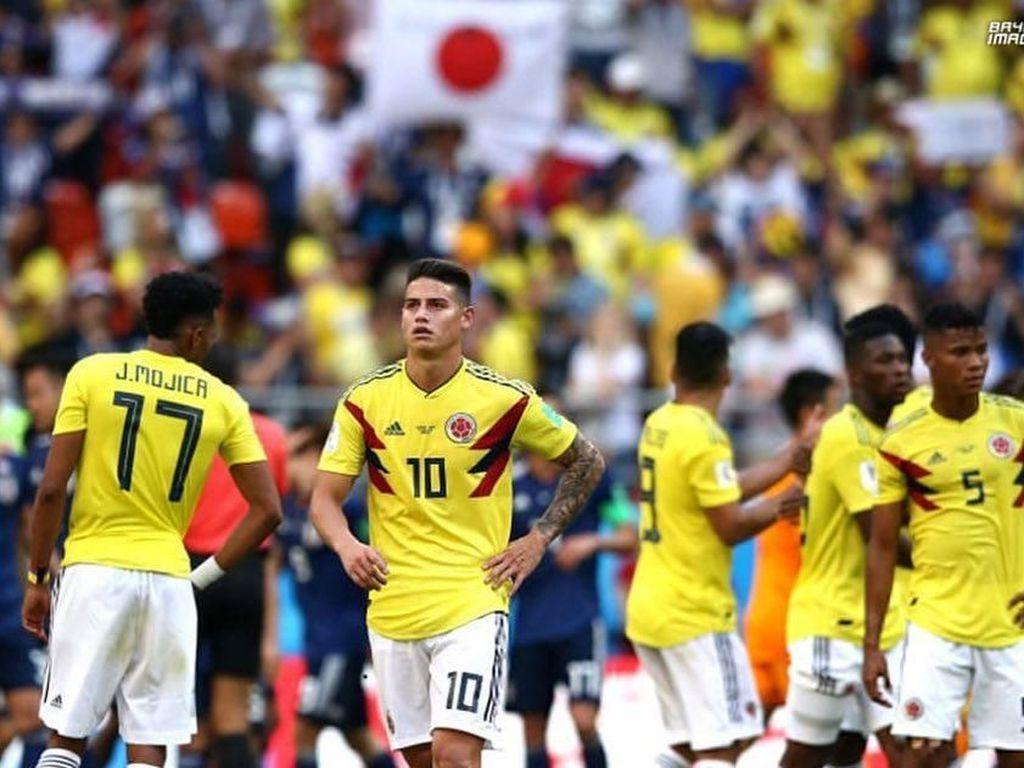 Di urutan ke-7 ada pemain Kolombia James Rodriguez. Foto: Instagram @jamesrodriguez10