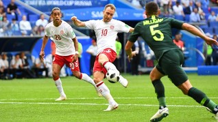 Denmark vs Australia Imbang, Hasil Adil di Samara Arena