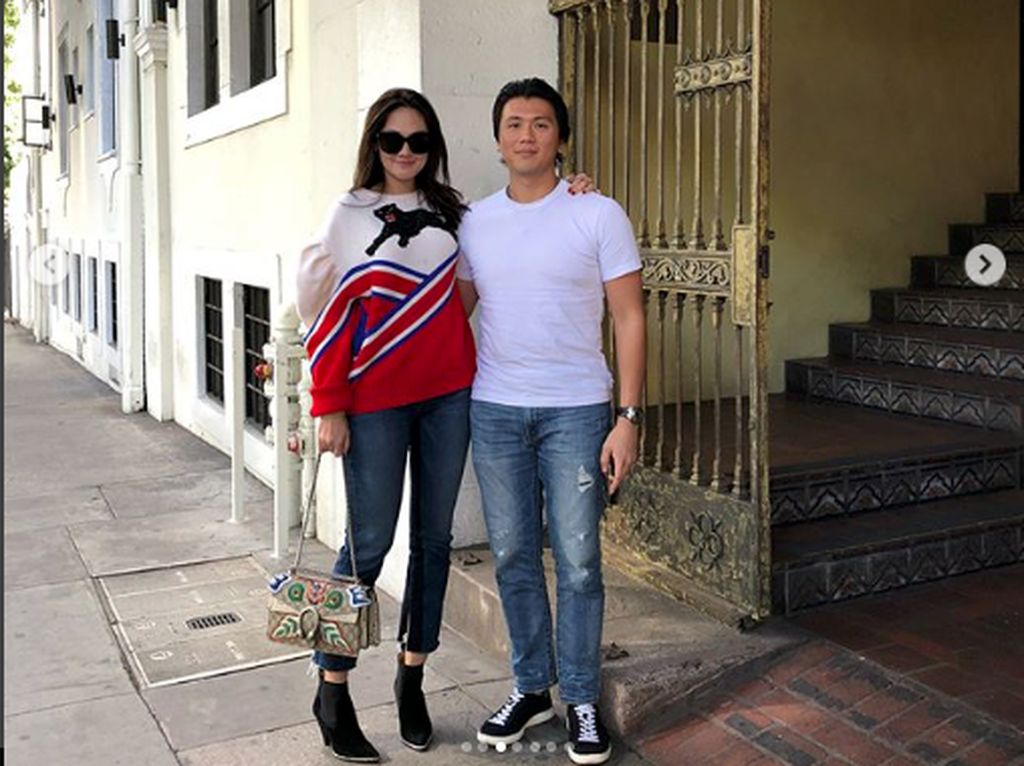 Reino Barack berulang tahun pada hari ini, Kamis (21/6). Luna Maya pun mengunggah foto mesra bersamanya dan kata romantis. Foto: Dok. Instagram/lunamaya