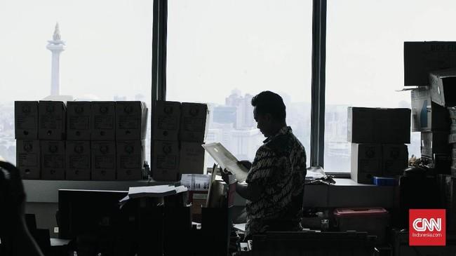 Gubernur DKI Jakarta Anies Baswedan berharap kebijakan tersebut menjadi langkah untuk menerapkan disiplin di kalangan PNS DKI. (CNN Indonesia/Adhi Wicaksono)
