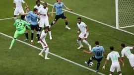 Blunder Arab Saudi Berikan Kemenangan untuk Uruguay