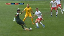 VIDEO: Cuplikan Gol-gol Denmark vs Australia