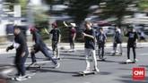 International Association of Skateboard Companies (IASC) menggagas Go Skateboarding Day pada tanggal 21 Juni 2004 guna mengenalkan kultur skateboarding kepada dunia. (CNN Indonesia/ Hesti Rika)