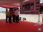 Ulang Tahun, Jokowi Tinjau Proyek di Bandara Soetta