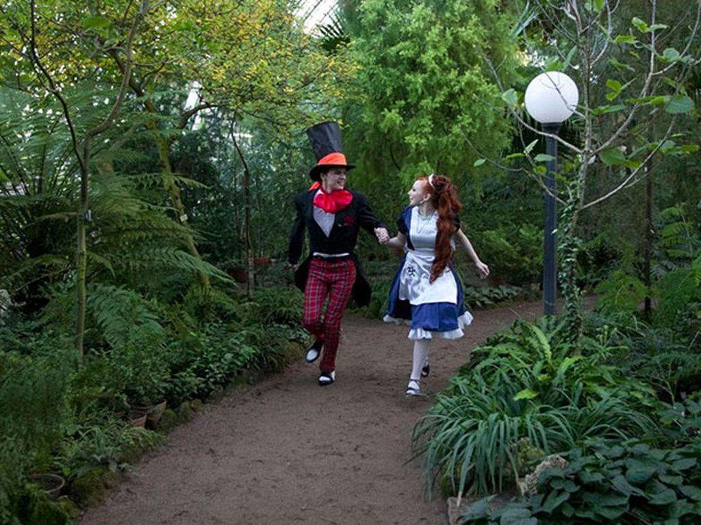 Seperti di dunia Alice in Wonderland. Foto: Brightside