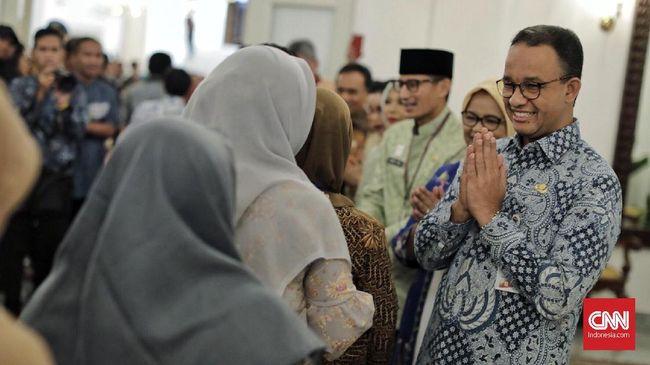 Anies Sebut HUT Jakarta Sepi karena Lebaran