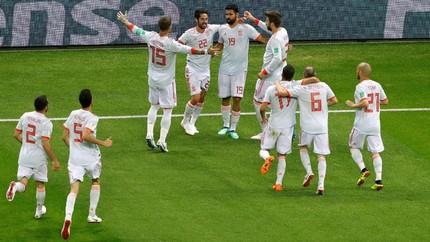 Prediksi Timnas Spanyol vs Maroko di Grup B Piala Dunia 2018