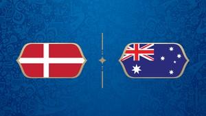 LIVE: Denmark vs Australia di Grup C Piala Dunia 2018