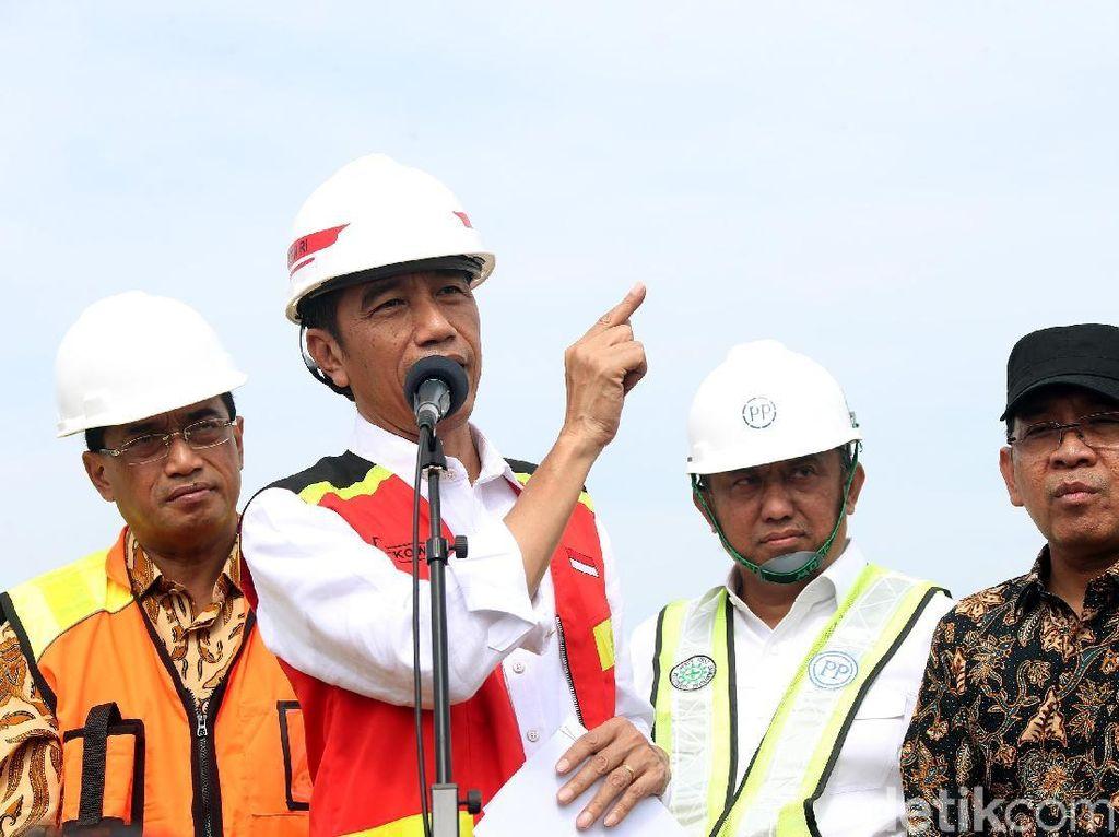 Jokowi mengatakan runway 3 Bandara Soetta akan menunjang penambahan penerbangan dari luar negeri ke Indonesia.