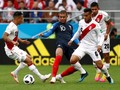 Babak Pertama, Prancis Unggul Atas Peru Berkat Gol Mbappe