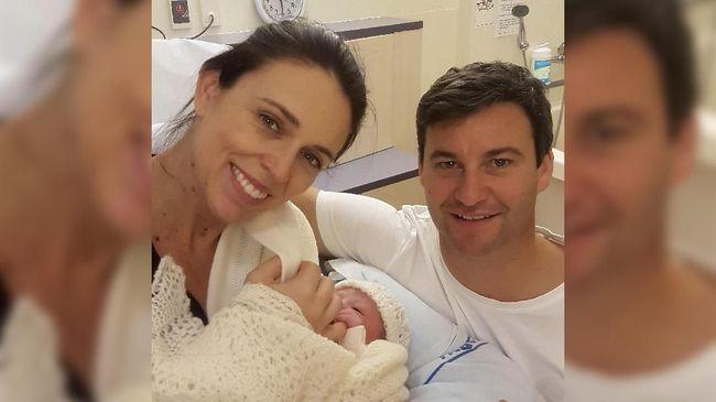 PM Selandia Baru Melahirkan Anak Pertama