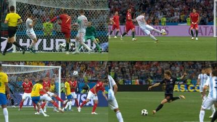 VIDEO: Kompilasi Gol Tendangan Jarak Jauh di Piala Dunia 2018