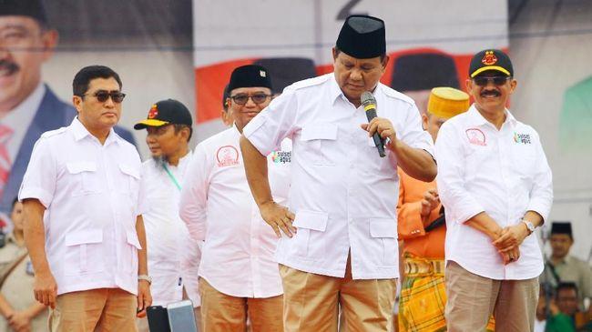 Prabowo Galang Dana Pendukung untuk Pemilu