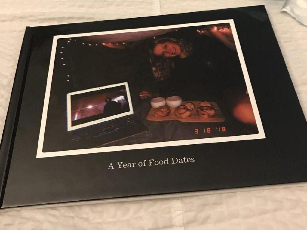 Pria Ini Dokumentasikan Setiap Makanan yang Dimakan Kekeasihnya Selama Setahun