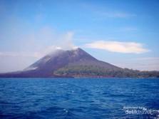 Terjadi Letusan, ESDM: Status Gunung Anak Krakatau Waspada