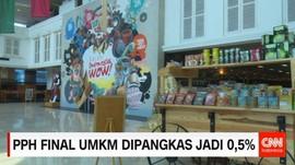 PPH Final UMKM Dipangkas Jadi 0,5%