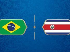 LIVE: Brasil vs Kosta Rika di Grup E Piala Dunia 2018