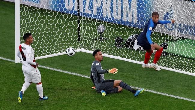 FOTO: Kemenangan Prancis Singkirkan Peru di Piala Dunia 2018