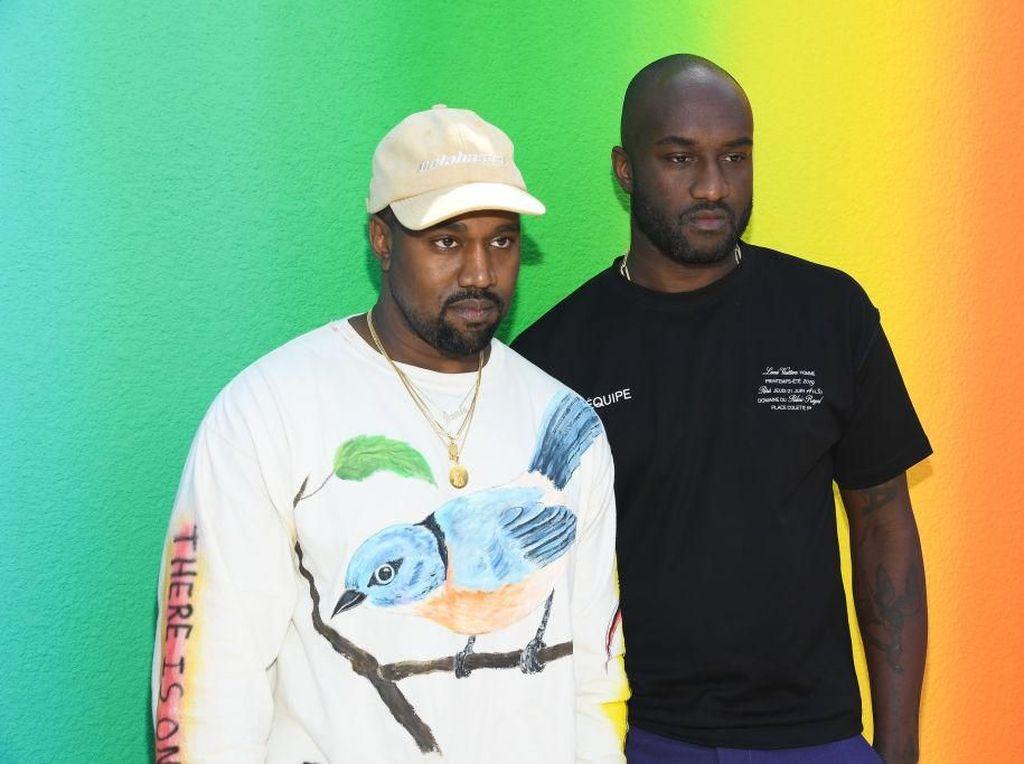 Debut Virgil Abloh 'Off-White' di Louis Vuitton, Kanye West Menangis
