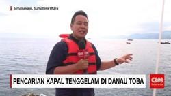 Pencarian Kapal Tenggelam di Danau Toba