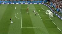 VIDEO: Cuplikan Babak Pertama Argentina vs Kroasia
